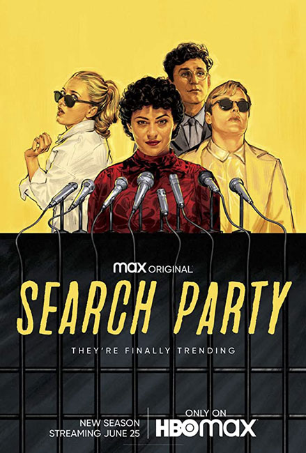 В поиске  / Search Party с 1 по 3 сезон (2016-2020) WEB-DLRip
