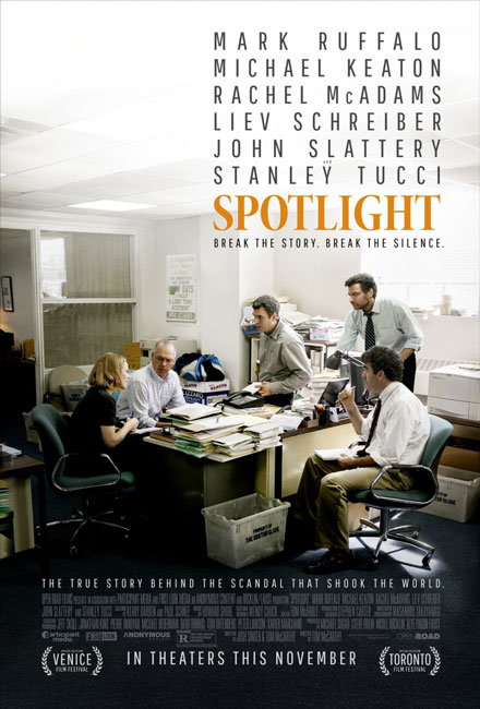 В центре внимания / Spotlight (2015) BDRip