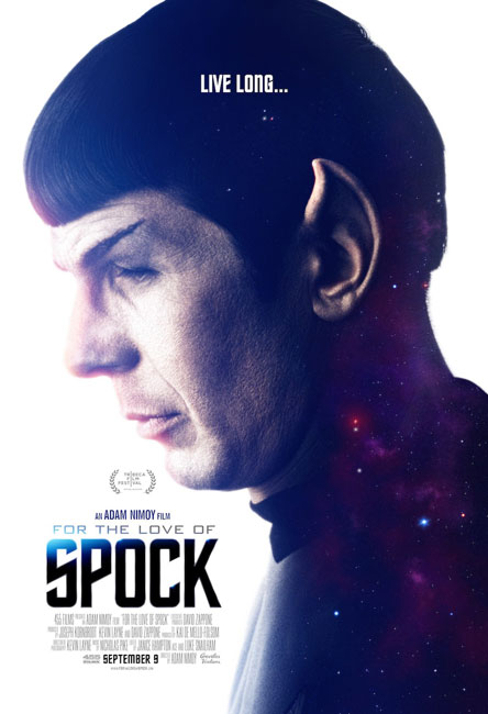 Ради Спока / For the Love of Spock (2016) WEBRip
