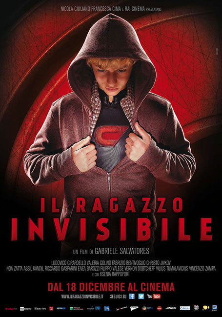 Невидимый мальчик / Il ragazzo invisibile / The Invisible Boy (2014) HDRip