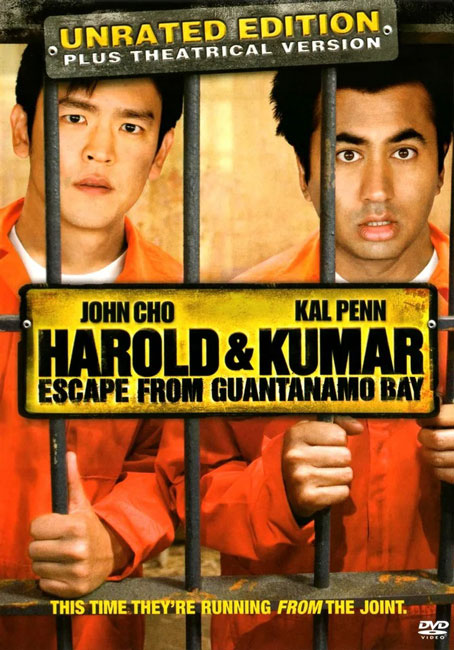 Гарольд и Кумар: Побег из Гуантанамо / Harold & Kumar Escape from Guantanamo Bay (2008) BDRip